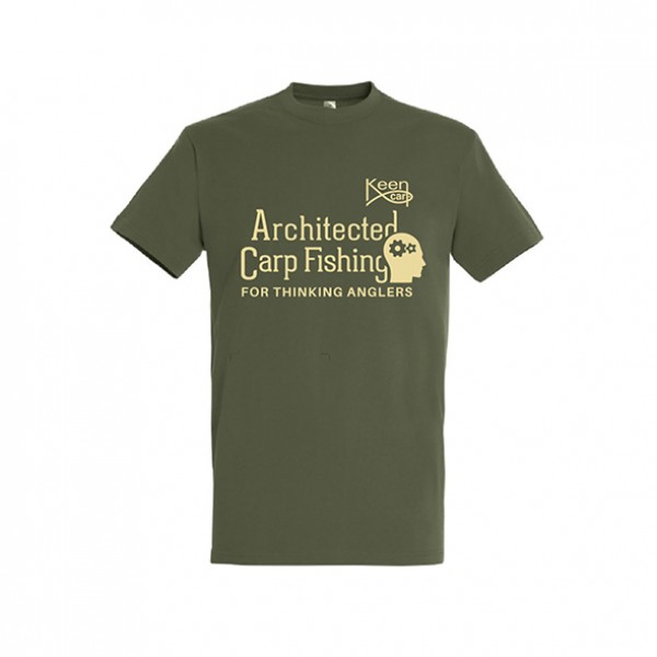 Architected Carp Fishing Póló - Architected Carp Fishing T-shirt