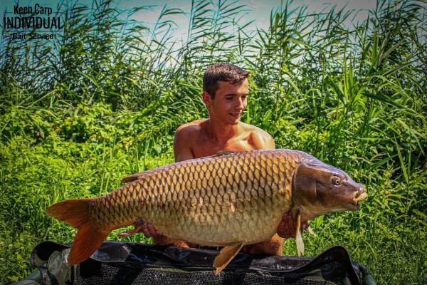 Családi horgászat Nagykállón