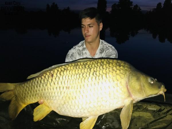 Első horgászatom a Keen Carp-pal