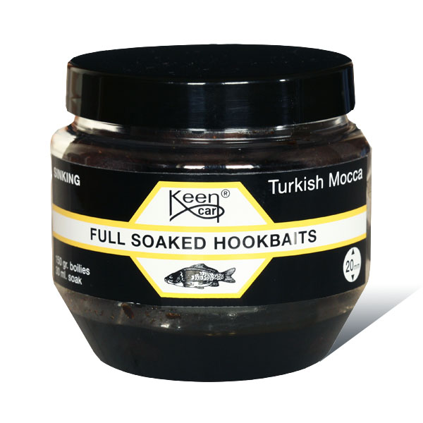 Turkish Mocca Full Soaked Hookbaits 150g - Turkish Mocca Full Soaked Hookbaits 150g